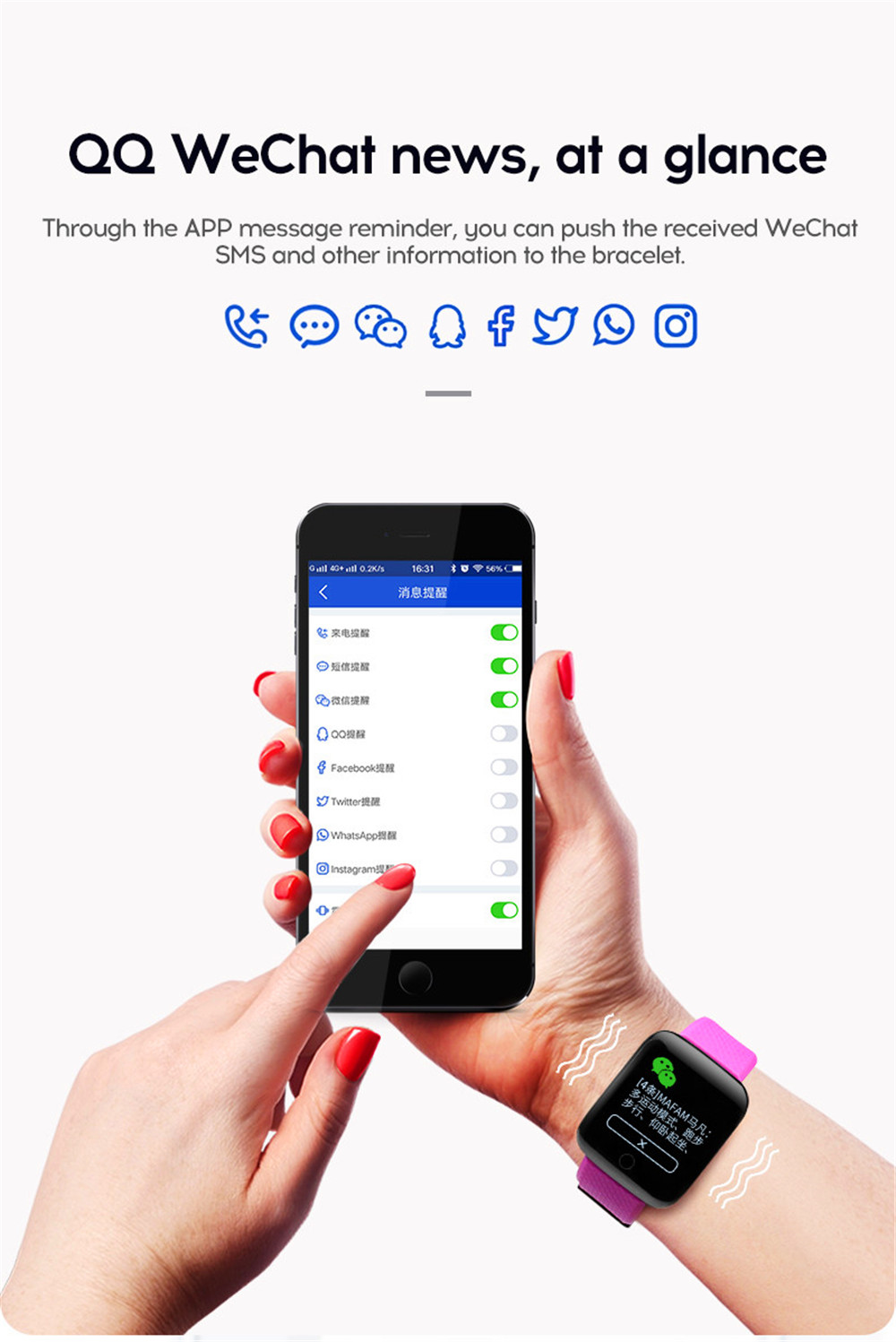 16-130435- Smart Watch Men Blood Pressure Waterproof Smartwatch Women Heart Rate Monitor Fitness Tracker Watch GPS Sport For Android IOS