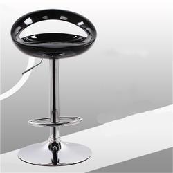 Простой Пластик барный стул поднял поворачивается Бытовые балкон многоцелевой высокая стул с небольшим спинки стабильной спереди стол и