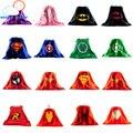 1 del cabo de La Novedad capa de superman para niños spiderman niños cape capas de superhéroes superhéroe traje trajes para niños juego de regalo conjuntos