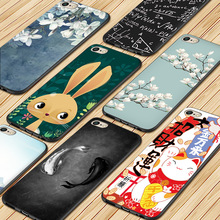 цена на Cartoon Animal Painting Soft silica gel phone case FOR iPhone XR XS Max X  For iPhone  6S 6  7 8Plus Case For iPhone 8Plus