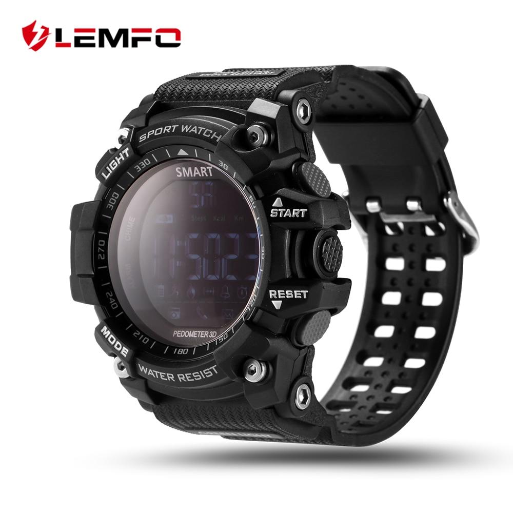 imágenes para Marca de lujo Elegante Reloj de Los Hombres Con BT Call/SMS/Twitter/Facebook/Whatsapp/Skype Recordatorio Deportes Contar los pasos Del Reloj