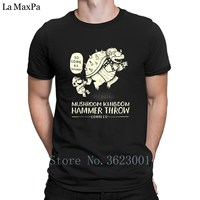 Creature Cotton T Shirt Hammer Throw Contest Tee Shirt Fit Normal T Shirt For Men Costume