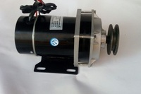 500w 24V / 36V / 48V belt pulley gear motor ,brush motor electric tricycle motor , DC gear brushed motor, MY1020ZXF