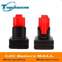 2 STKS Hoge Capaciteit Oplaadbare Power Tool batterij voor Milwaukee M12 XC Ion batterij 12 V 3000mA 48-11-2402