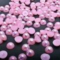 1 Pacote 2mm-5mm Fantasia Rosa Pérola Nail Art Stickers Dicas Decoração Glitter Prego Rhinestone Decoração Ferramentas