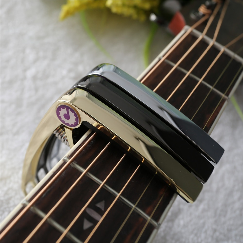 top alloy folk capo classical electric guitar tone clip metal acoustic guitar clip in guitar. Black Bedroom Furniture Sets. Home Design Ideas