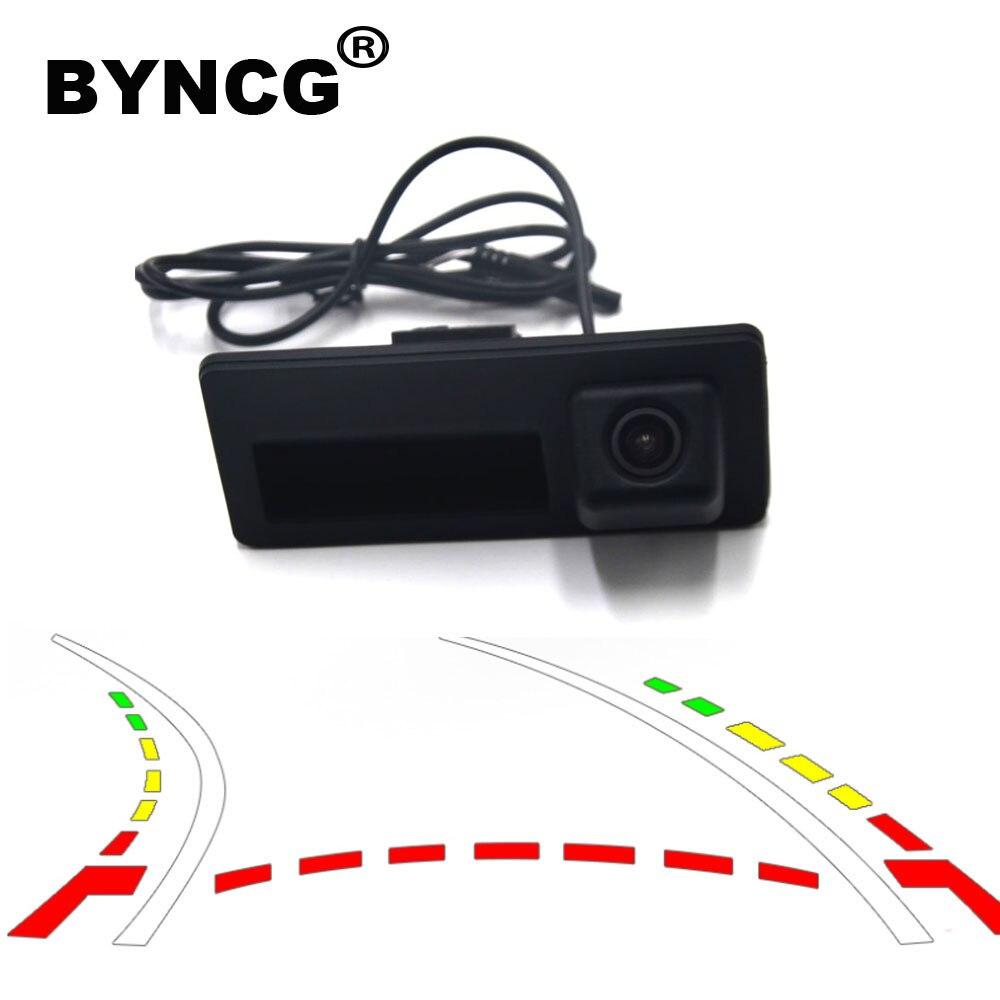 CCD HD Car Trunk Handle Rear View Camera For Audi A4 A5 S5 Q3 Q5 For VW Golf Passat Tiguan Touran Jetta Touareg B6 B7