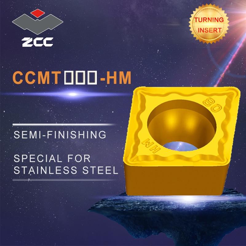 CCMT09T3 CCMT1204 HM semi-acabamento de aço inoxidável