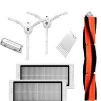 Replacement Robot Vacuum Cleaner Parts Brush Filter Set Vacuum Cleaner Accessories