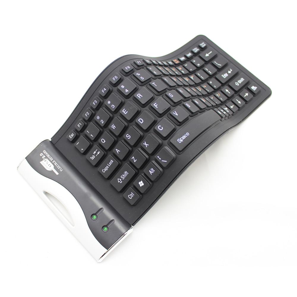 Ipad Keyboard Wired | Silicone Keyboard Ultra Slim Thin Foldable Wired Keyboard With