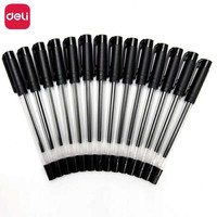 Deli 30 Piece 0 5mm Tip Black Gel Ink Roller Ball Pen Office Supplies School Stationery