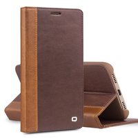 QIALINO Real Genuine Leather For Huawei Ascend Mate 8 Case Fashion For Huawei Mate8 Case Cover