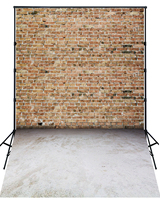 2016 New arrival brick wall photography backdrops wedding stage photo background XT 4183