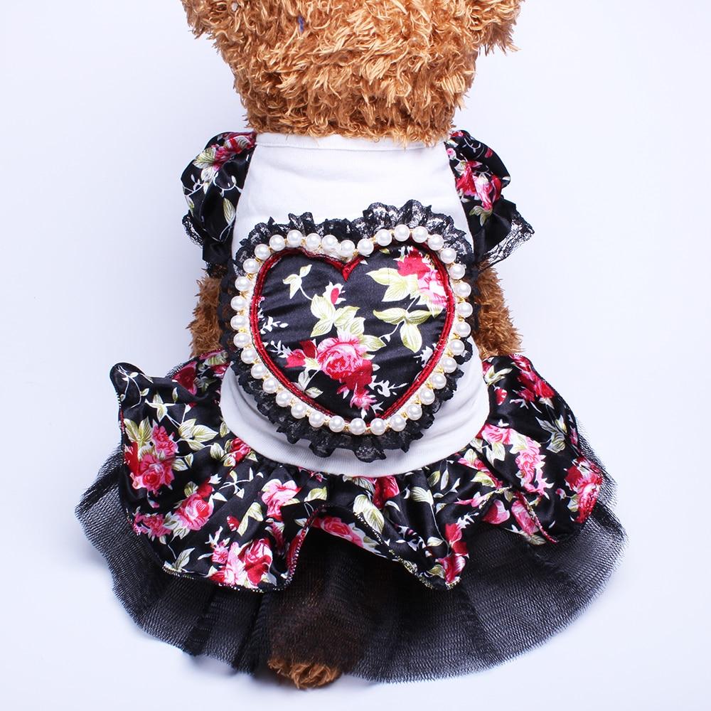 Շների կատու ծաղկային զգեստ Tutu Love Design - Ապրանքներ կենդանիների համար - Լուսանկար 4