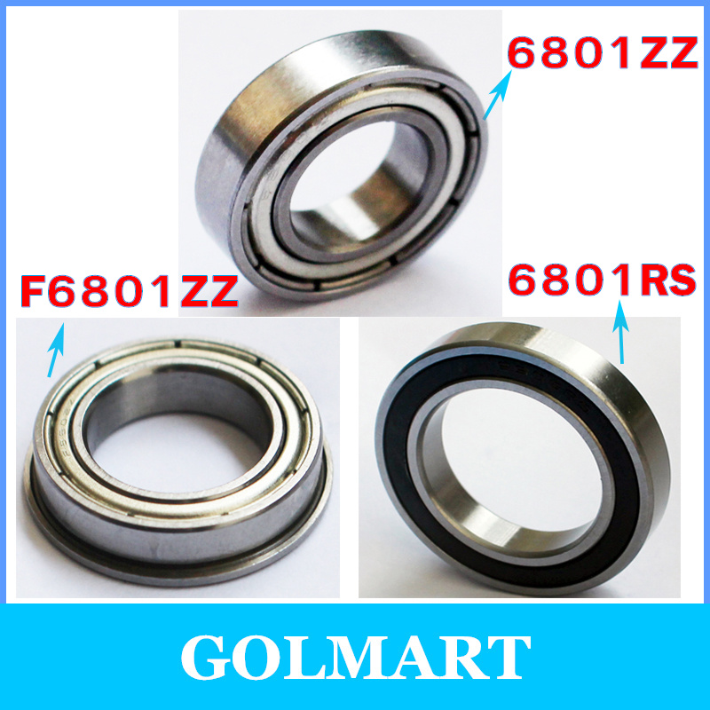 6801RS Rolling Bearing ID//OD 12mm//21mm 12mm//21mm//5mm
