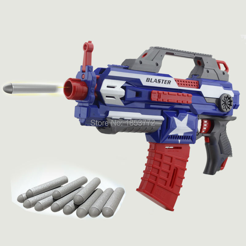 Toy Guns With Bullets Electric Toy Gun...