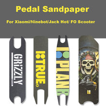Xiaomi Electric Scooter Pedal Sandpaper Anti-slip Pedal Sticker Protective Sandpaper Ninebot ES Nextdrive Electric Scooter(China)