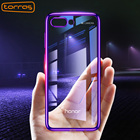 TORRAS Soft Tpu Case For Huawei Honor 10 5.84 Transparent Clear funda Case For Huawei Honor 10 Cover Mobile Phone Cases Purple