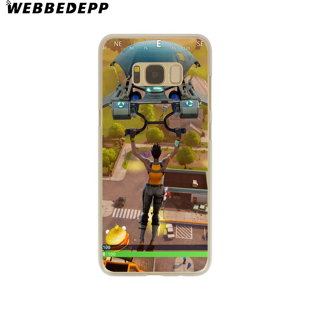 Game Battle Royale Phone Case Skin Samsung Galaxy S9 S8 Plus S7 S6