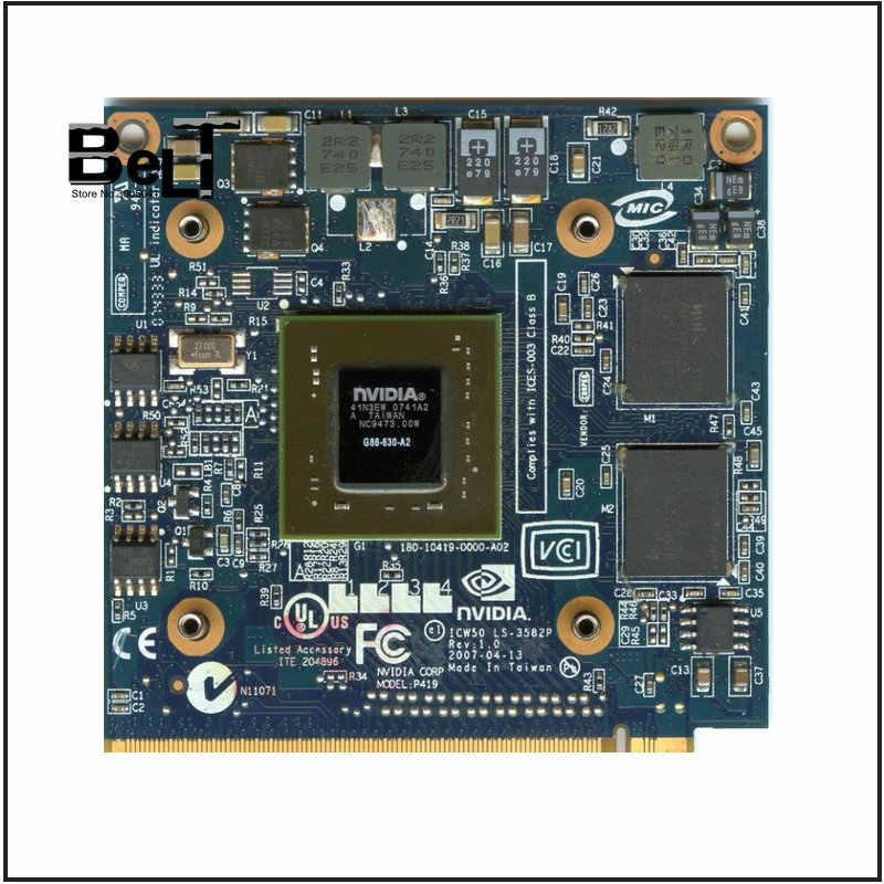 بطاقة فيديو VGA 8400M GS 256MB DDR2 8400MGS لـ Acer travel mate 4730G 5520G 5530G 5710G 5720G 5730G 6593G 7520G 7530G 7720G 7730G G G G