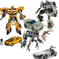 NEW In Box Robot Jazz Captain Lennox Barricade Sideswipe Human Alliance Soundwave With Laserbeak Transformation Action