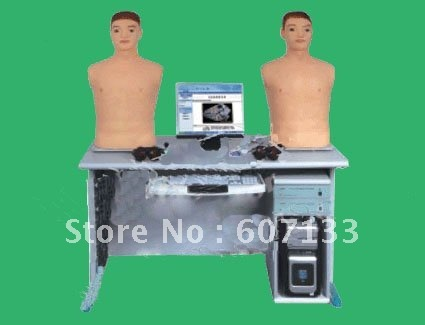 Intelligent digital network physical examination tutoring system, physical examination (heart and lung double auscultation funct