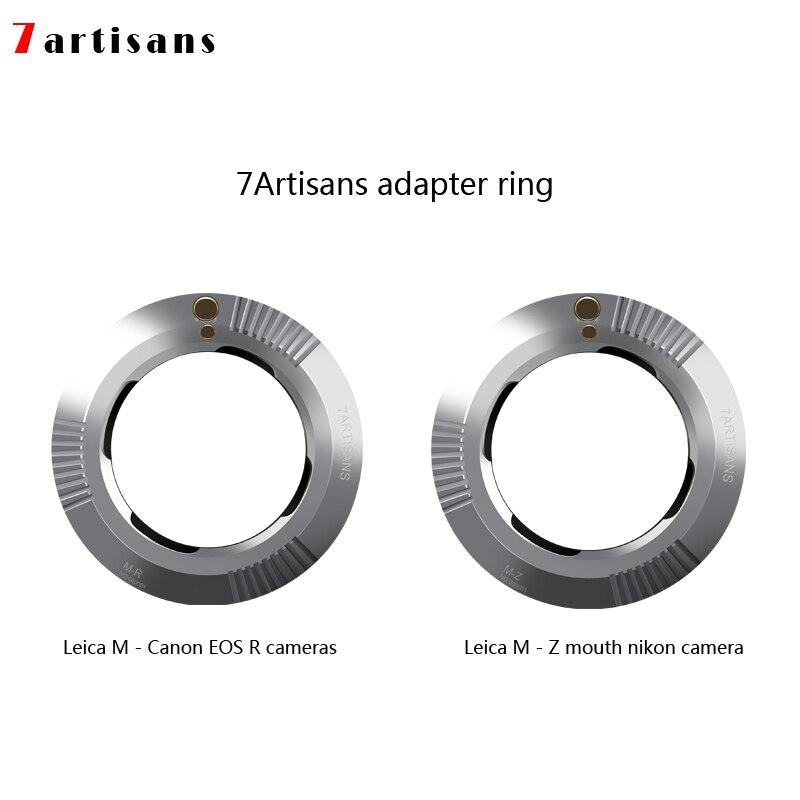 7 ambachtslieden Adapter Ring voor M Mount Lens voor De Canon EOS R camera En M Mount nikon camera door Z camera-in Lens Adapter van Consumentenelektronica op  Groep 1