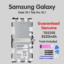 купить Original Tablet Battery T8220E For Samsung Galaxy Note Tab 10.1 2014 Edition SM-P601 P600 T520 P601 P605 P607 8220mAh Batteria по цене 1112.07 рублей