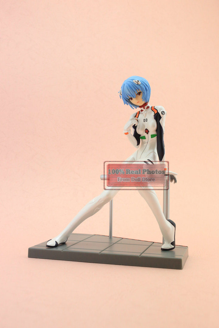 ФОТО 18CM Japanese classic anime figure Neon Genesis Evangelion Ayanami Rei action figure collectible model toys for boys