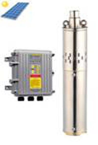 600 W DC48V livraison gratuite rotor hélicoïdal solaire puits profond pompe max. débit 1.8m3/h pour d'eau à effet de serre système 3SSH1. 8/120-D48/600