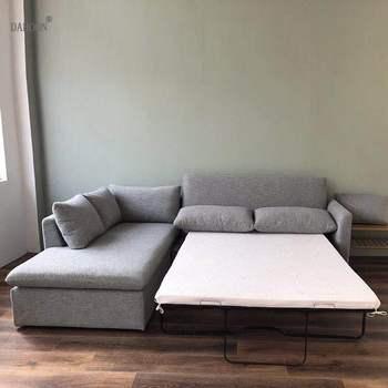 Lino tessuto di canapa divani componibili Divano del Soggiorno set multifunzionale alon divano soffio asiento muebles de sala canape divano cama