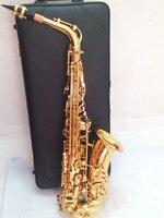 Quality Saxophone Alto Sax YAS 62 EX Professional E Flat Gold Saxofone Top Musical Instruments