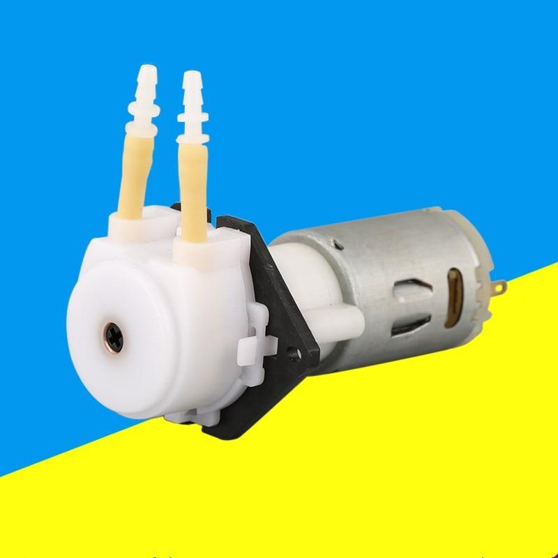 Langsamen Fluss Micro Schlauchpumpe Dosierpumpe Silikonschlauch Dosierpumpe Mit Planetengetriebe Motor 0-177 Ml/min Grothen Pumpen, Teile Und Zubehör