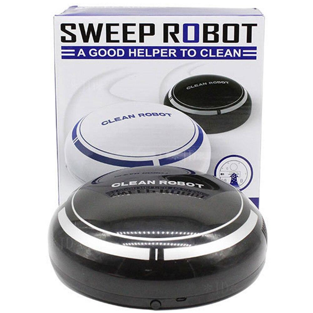 Haute Qualité Villalin Robot Pleine Bande Dessinée Intelligente Balayage Robot Aspirateur Mini Automatique Outils De Nettoyage du Sol