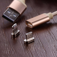 Magnetic Cable Fast Charging Data Type C Micro USB for Lightning IPhone 6 6s Plus 5 5S Connector Charger Adapter