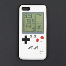 GB Gameboy Tetris Phone Cases for iPhone 6 6s 7 7plus 8plus and iPhone X