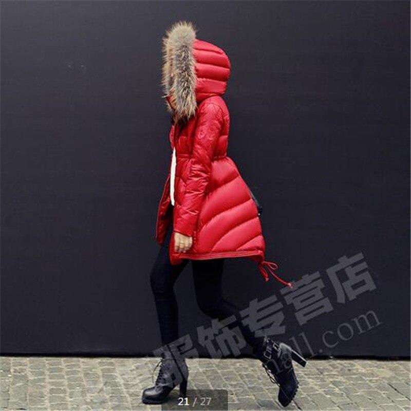 Élégantes Black Mode Manteau Produit Type Taille blue K2633 Dames Femmes Capuchon Vêtements À Lâche D'hiver Hiver Pardessus Mince Grande Cape red Nouveau Veste RgfgqT