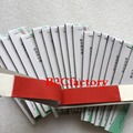 2Box Dental Red Articulating Paper Strips  RED (400 SHEETS) Dental Lab Products