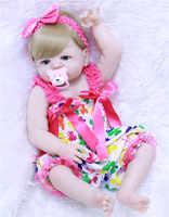 "Reborn bebê bonecas npk 22 ""55cm completa silicone reborn bebê bonecas brinquedos para crianças presente bebes reborn menina bonecas"