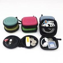 Mini Earphone Storage Bag Cable Organizer Pouch Digital USB Box Portable Travel Electronic