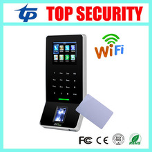 ZK F22 biometric fingerprint access control with MF card reader fingerprint time attendance with SilkID live sensor and WIFI