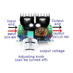 Image 3 - XL4016E1 ハイパワー DC 電圧レギュレータ DC DC XH M401 降圧モジュール最大 8A タイヤ電圧レギュレータ