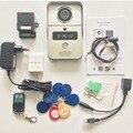 Wifi video tür telefon türklingel Wireless Intercom Unterstützung IOS Android RFID Keyfob Zugang Video Tür Sprechanlage + Glocke
