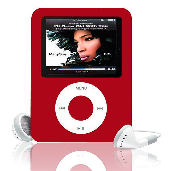 "Reproductor de MP3 8 GB 1.8 ""LCD de Medios de Vídeo radio FM 3o Generación 6 Colores A57"