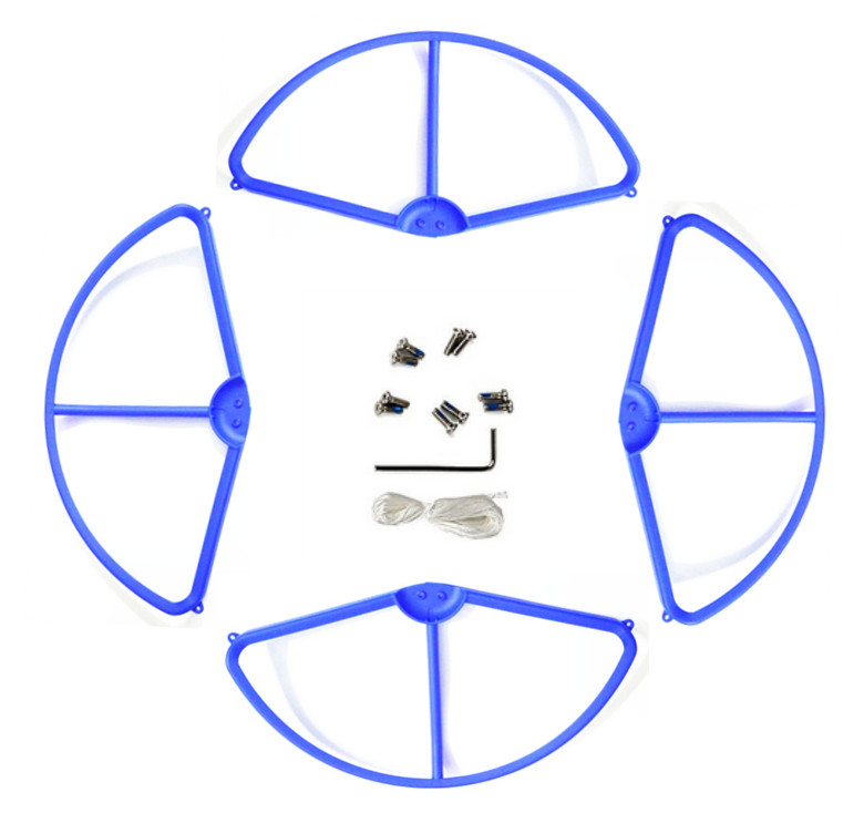 DJI Phantom 3 aerial four axis aircraft blade protection ring propeller protector WLtoys V303 blue protective ring parts