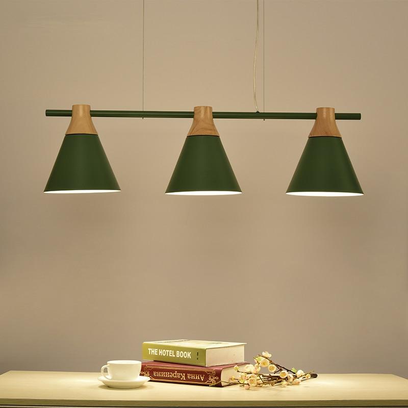 Nordic New Design Pendant Lights Wooden Hanging Light For ...