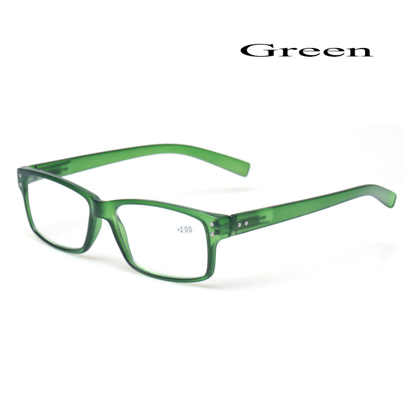 2018 Fashion Clear Plastic Men and Women Reading Glasses Rectangular - Apparel Accessories - Photo 3