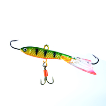 FISH KING1PC 12G 70MM 3D Eyes 10 Color Winter Ice Fishing Lure Hard Bait Artifical  Fishing Tackle Shop Peche Pesca