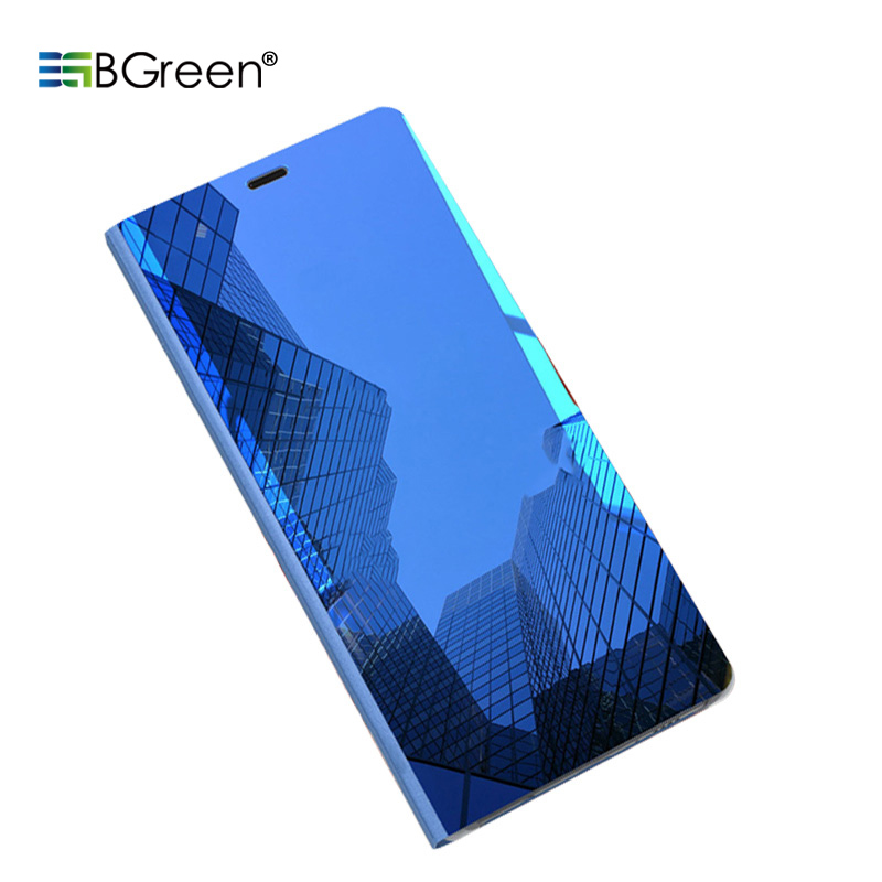 Bgreen Shell-Stand-Holder Cell-Phone-Case Samsung Mirror Smart for S9/s9plus PC