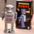Clásico Juguetes de Hojalata Robot Grande Terminan Juguetes Robot Juguetes de Cuerda Hecha A Mano Colección De Arte de Artesanía